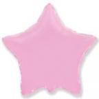 Шар Звезда Пастель Розовый / Pink